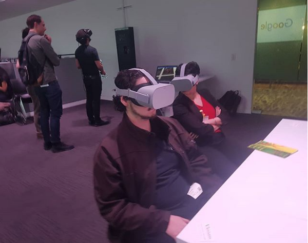 Credit:  @360_traveler  We had a great time supporting new media and journalism at the 2019  #dcwebfest   @google  DC! Sharing our past travels on the  #oculusgo  and speaking about the potential of new tech with the  #samsungodyssey  on education, journalism, and industry was a blast! Thank you!