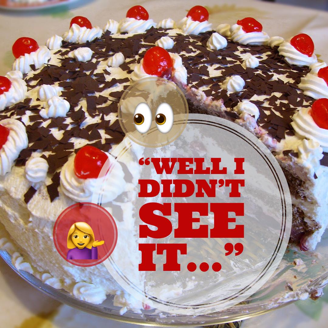 Name reveal cake!