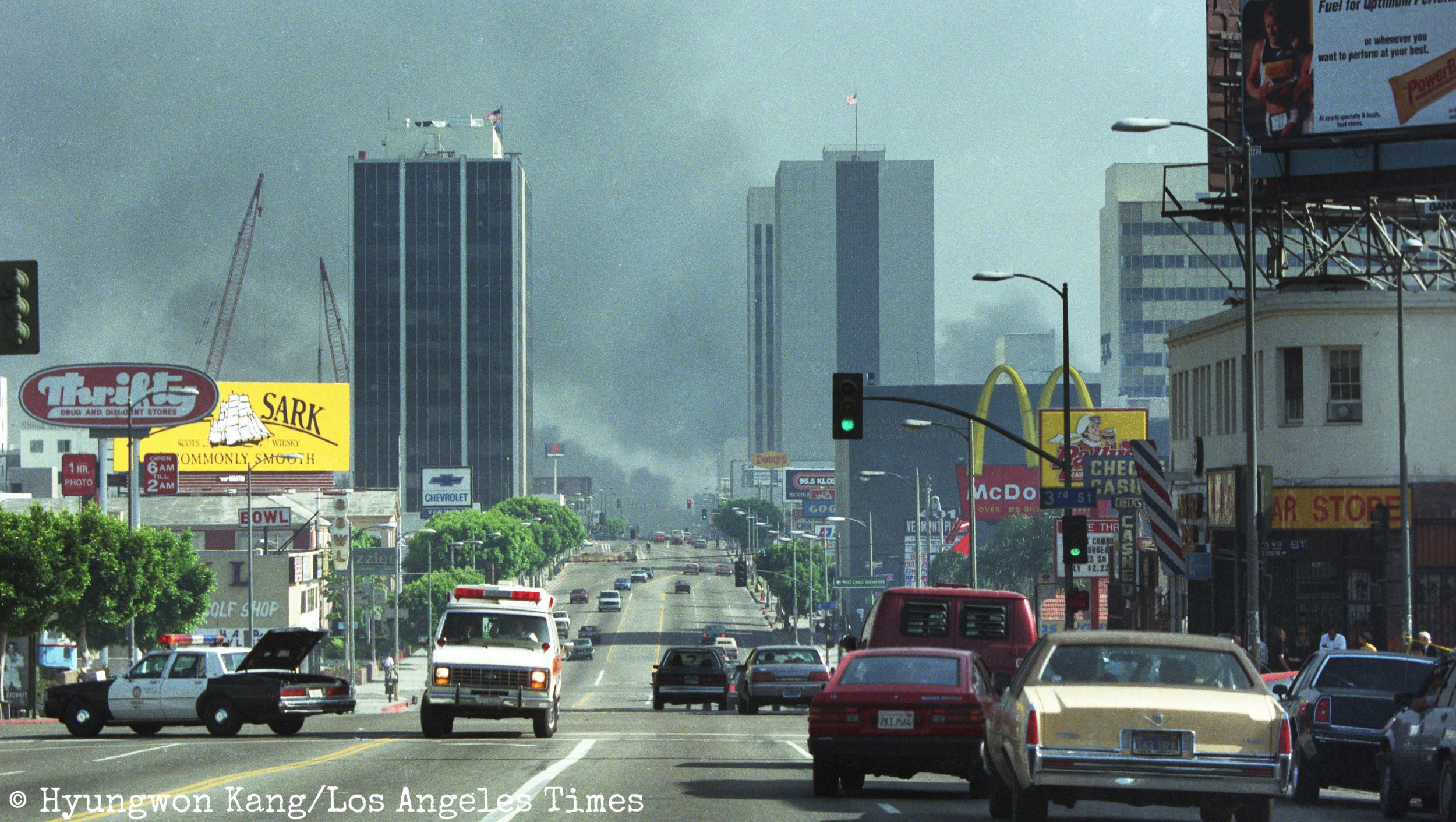 Koreatown burns