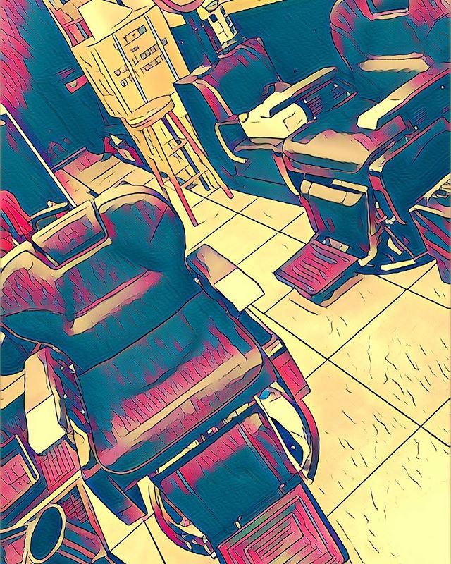 Check Out Our New Barber Chairs!  #barbershop #bostonbarbers #newbarberchair #hairitisbarbershop
