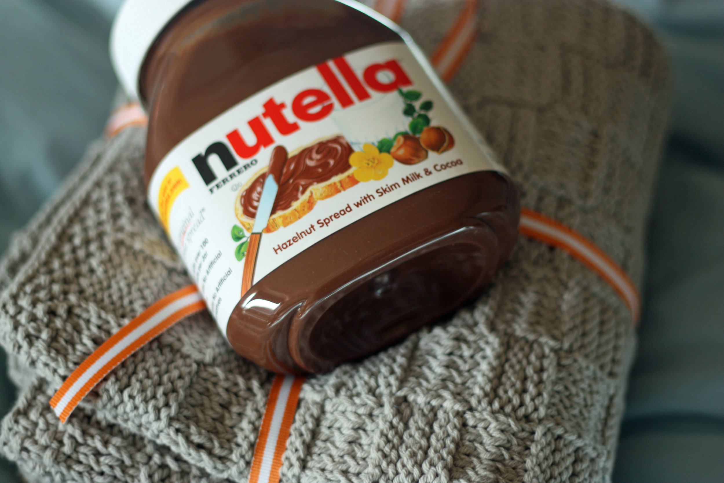 Nutella blanket