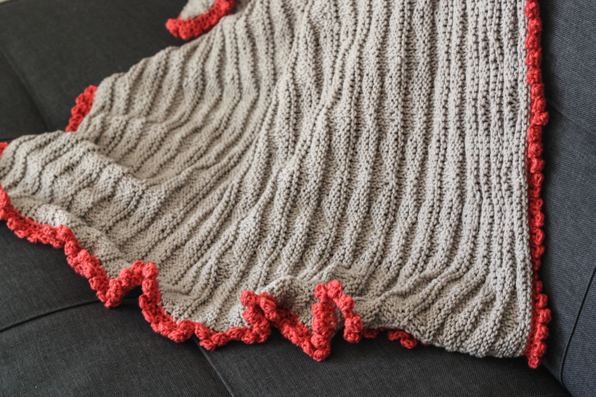 Easy Knitting Baby Blanket