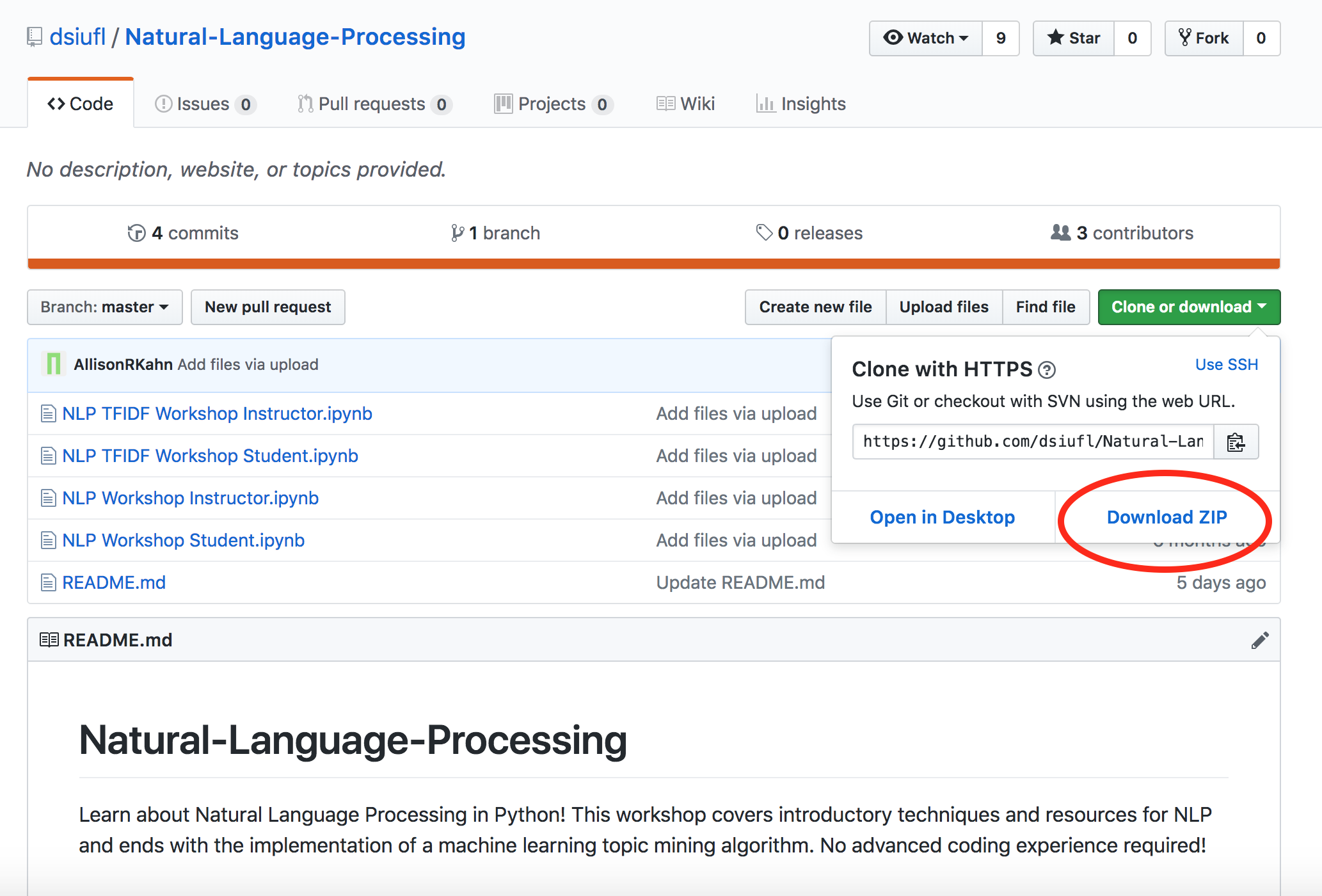 Natural Language Processing — UF Data Science and Informatics