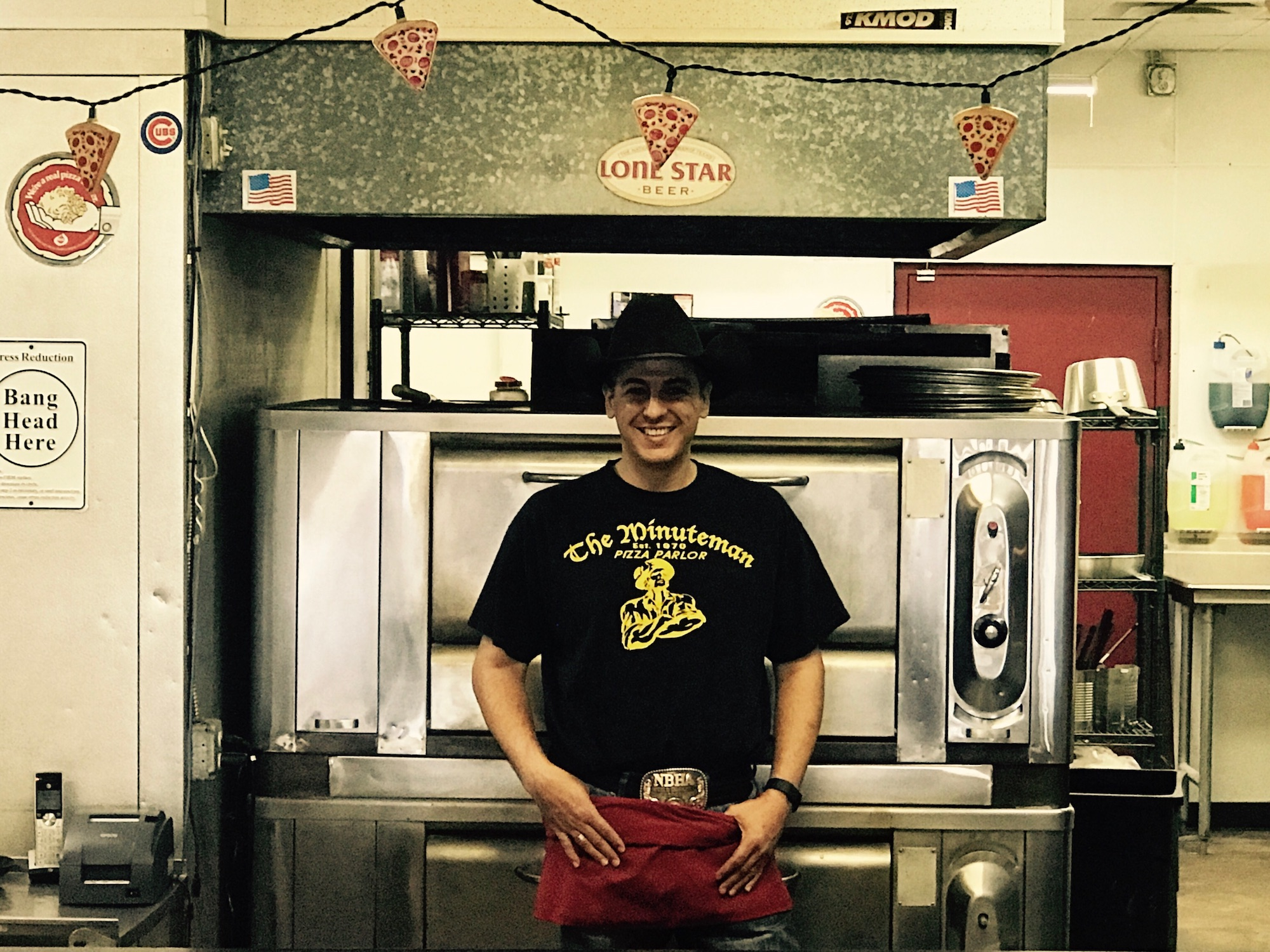 Travis Lawley - Owner of the Minuteman Pizza Parlor