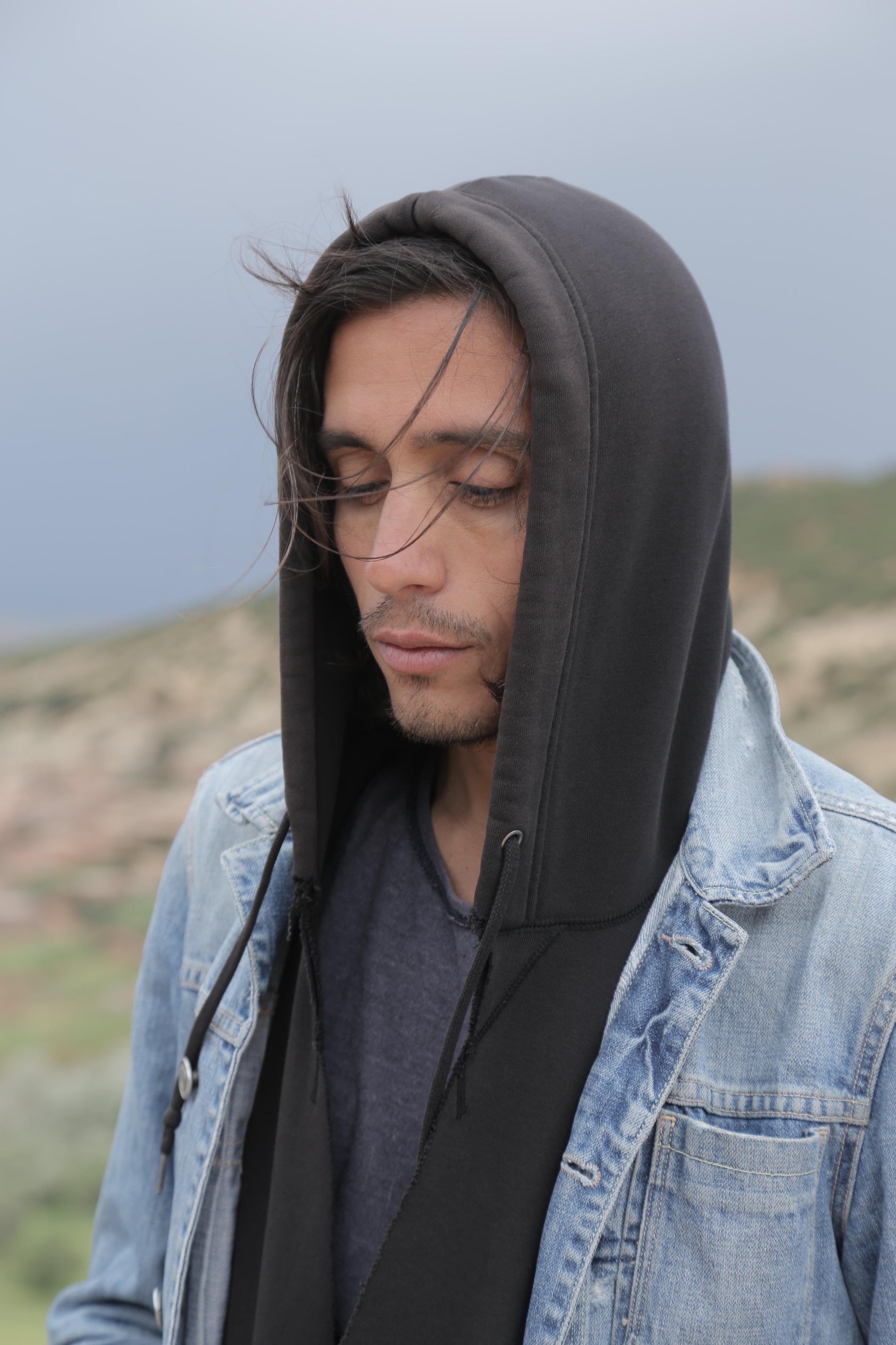 Adrián Villar Rojas, photographed by Mario Caporali