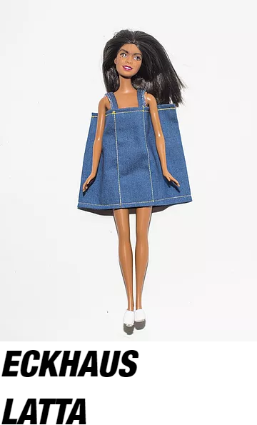 """One of the """" Not-Barbies """" created by Ava Nirui & Alex Lee, shot exclusively for Dazed by Regine David"""