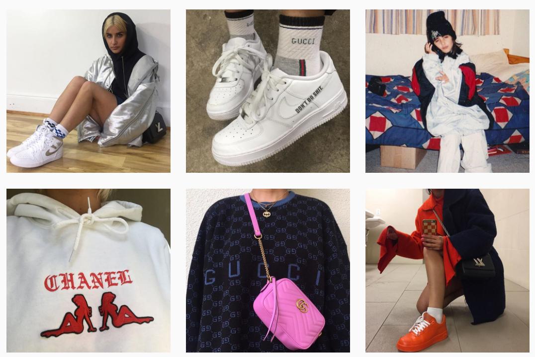 """Logomaniac"" luxury pieces from  @Avanope Instagram feed"