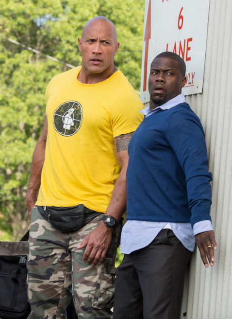 A still from the film Central Intelligence.