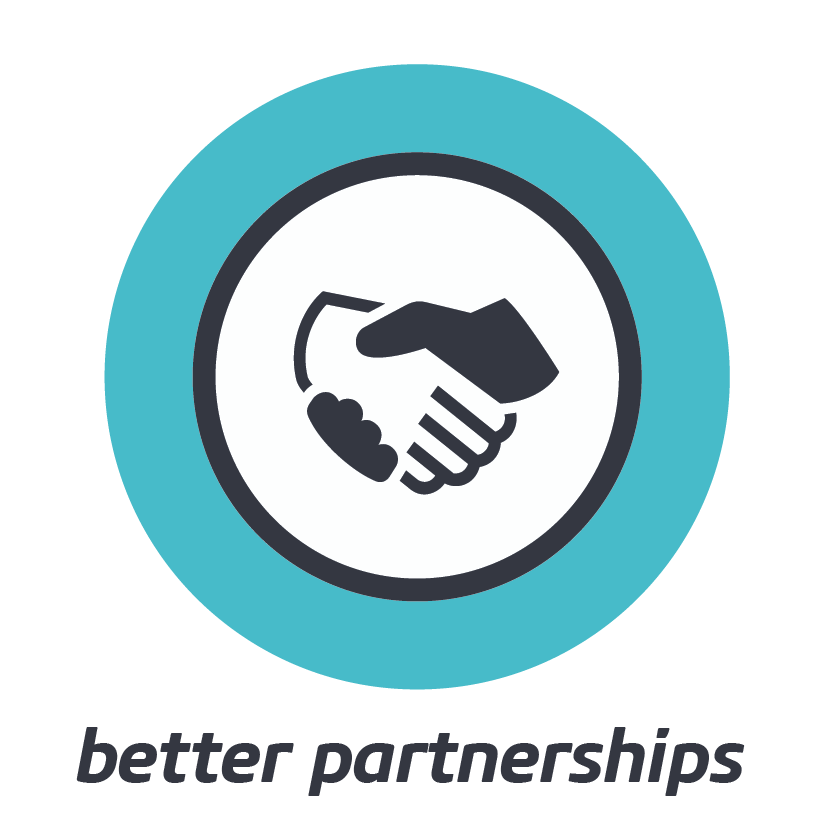 BETTER PARTNERSHIPS    Capture the enormous power of individual differences, well applied to a common purpose.