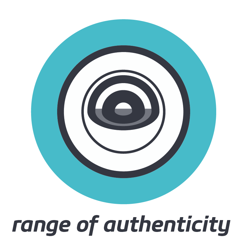 RANGE OF AUTHENTICITY    Discover the full range of what is authentic for you, then flex it to meet your context and goals.