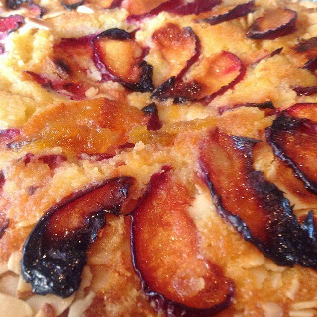 Plum & Almond Frangipane // Apple & Walnut Cake - £3.50 per slice