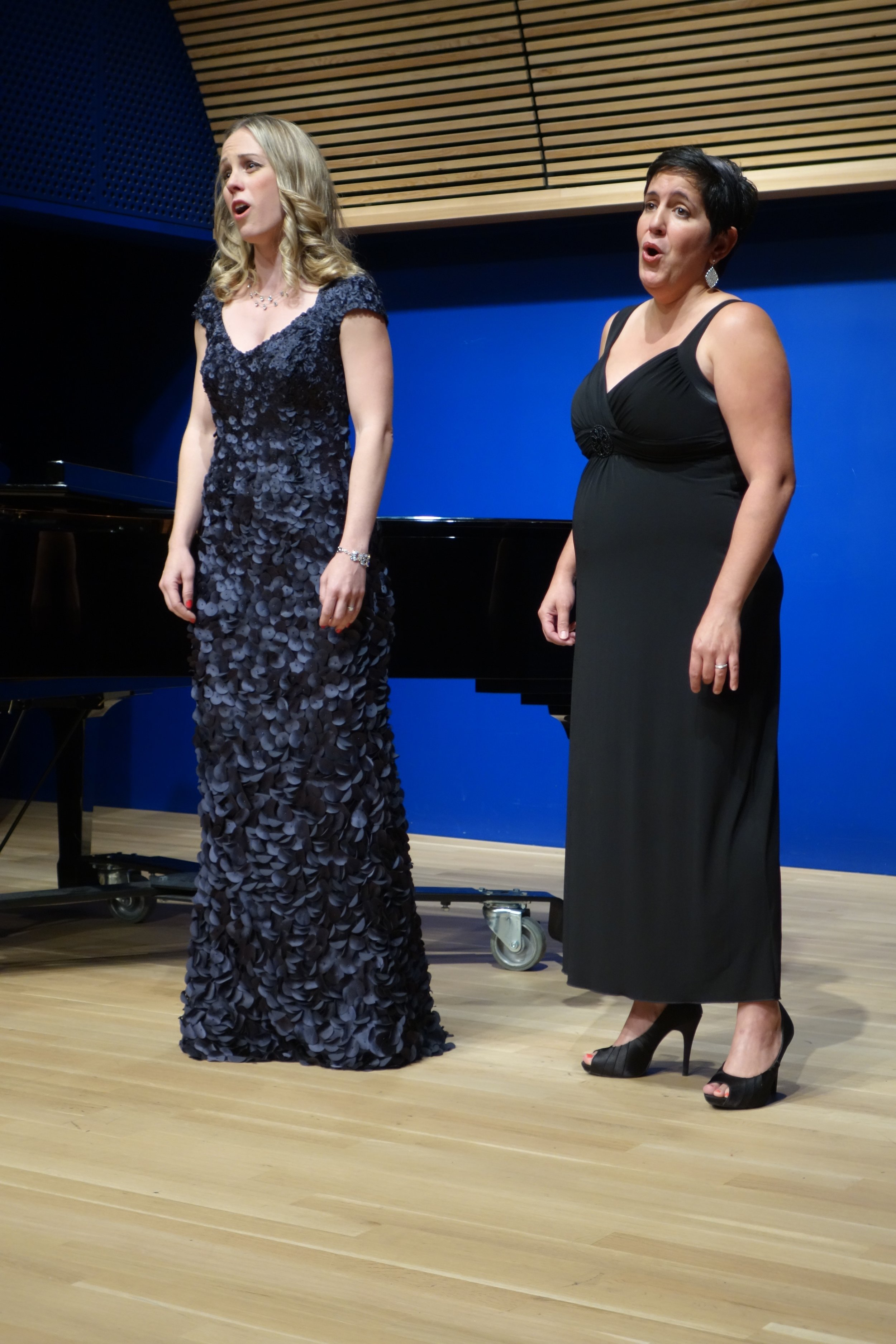 Singing the Lakmé Flower Duet with mezzo soprano Christina Hart
