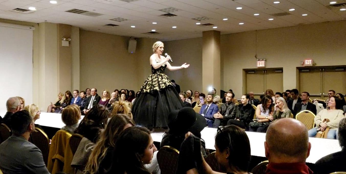 Singing for NY Fashion Week