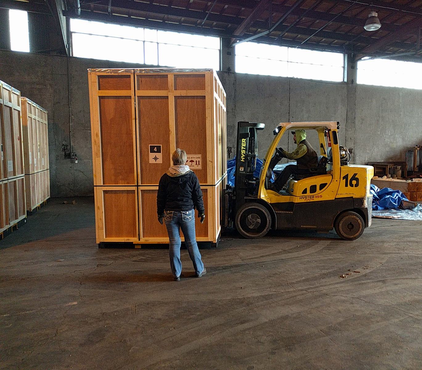 Warehouses are dirty, industrial spaces with non-technical people doing most of the work.  The offering needed to be simple and durable; not requiring much training, troubleshooting,  or reliance on other systems.