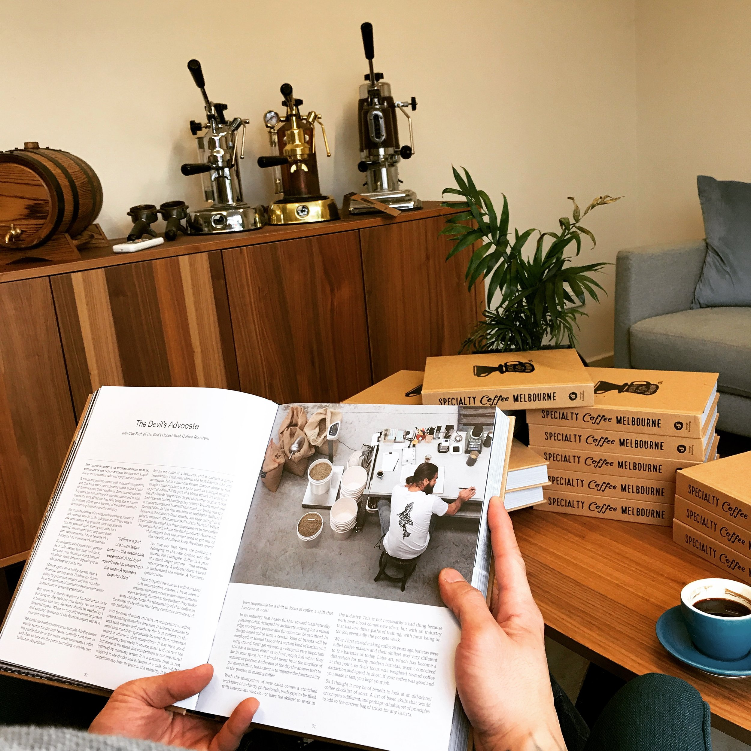 2017 Melbourne Specialty Coffee Book (Pg 70)