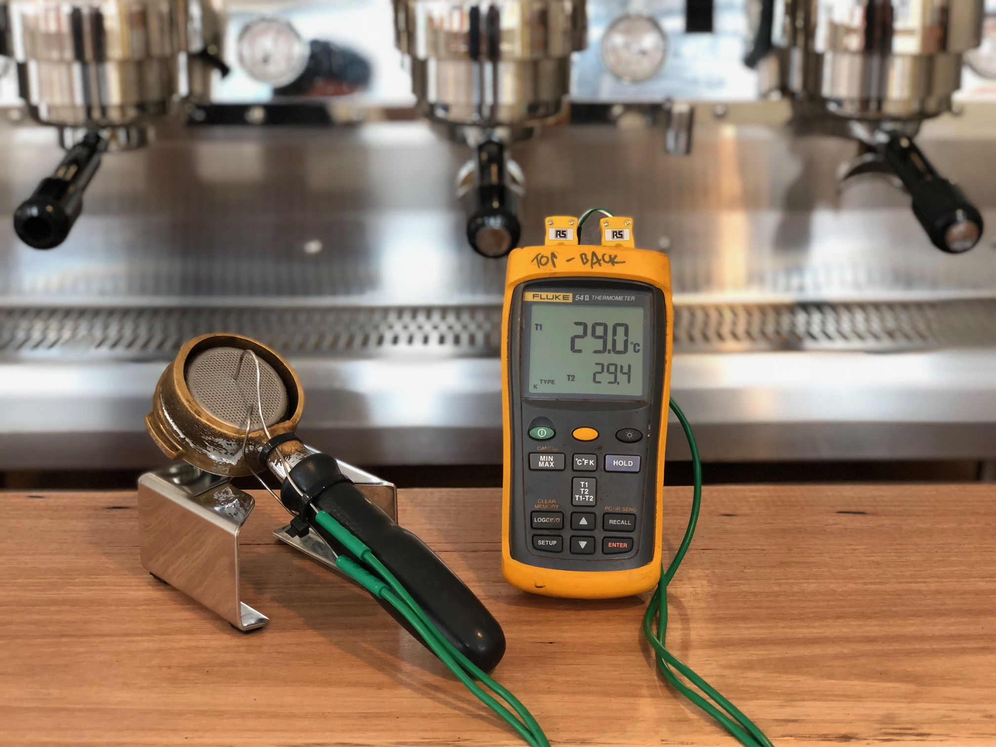 Home-made dual probe Thermocouple