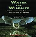 water for wildlife bat conservation