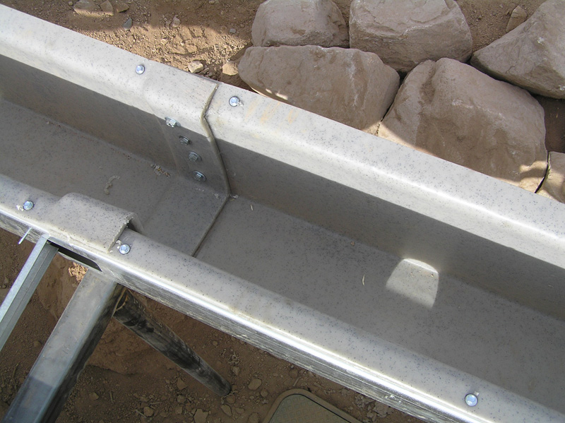 Rainmaker High Capacity Rain Gutter