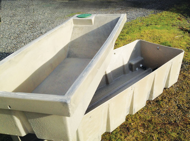 Wildlife Water Trough Open