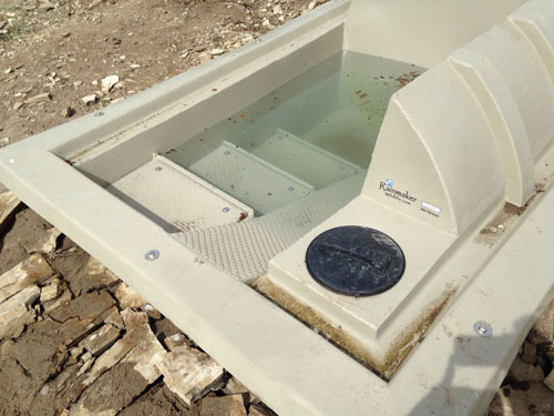 Wildlife Water Guzzler Walk-in Steps