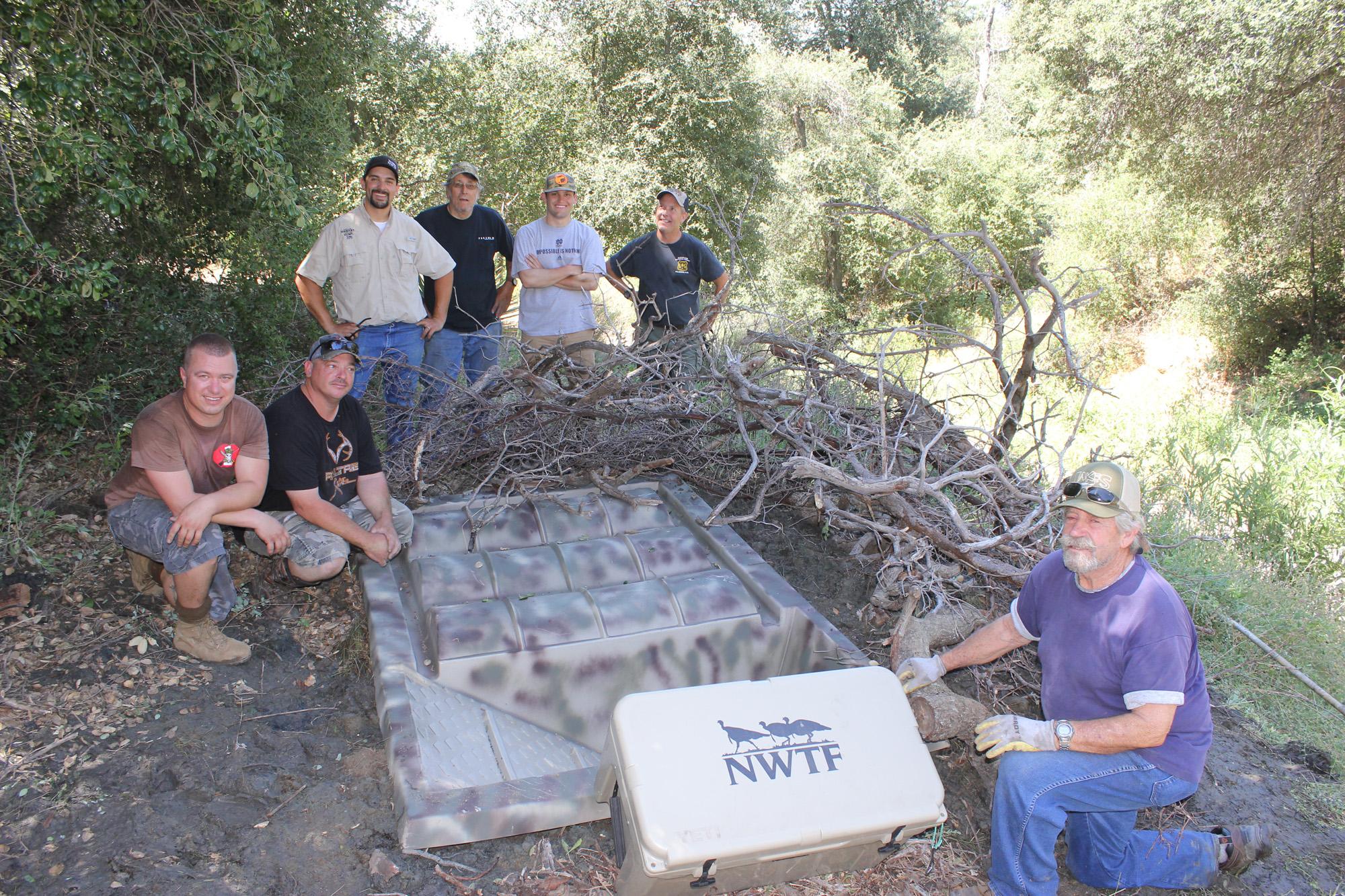NNWTF San Diego Chapter & Wildlife Water Guzzler