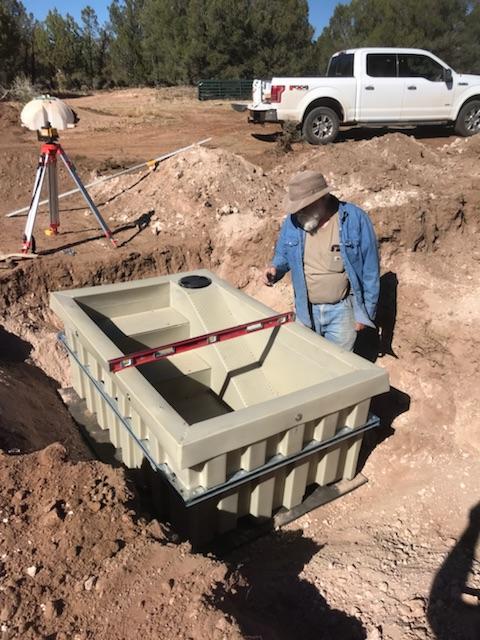 Rainmaker Wildlife Drinker-310 Installed Arizona