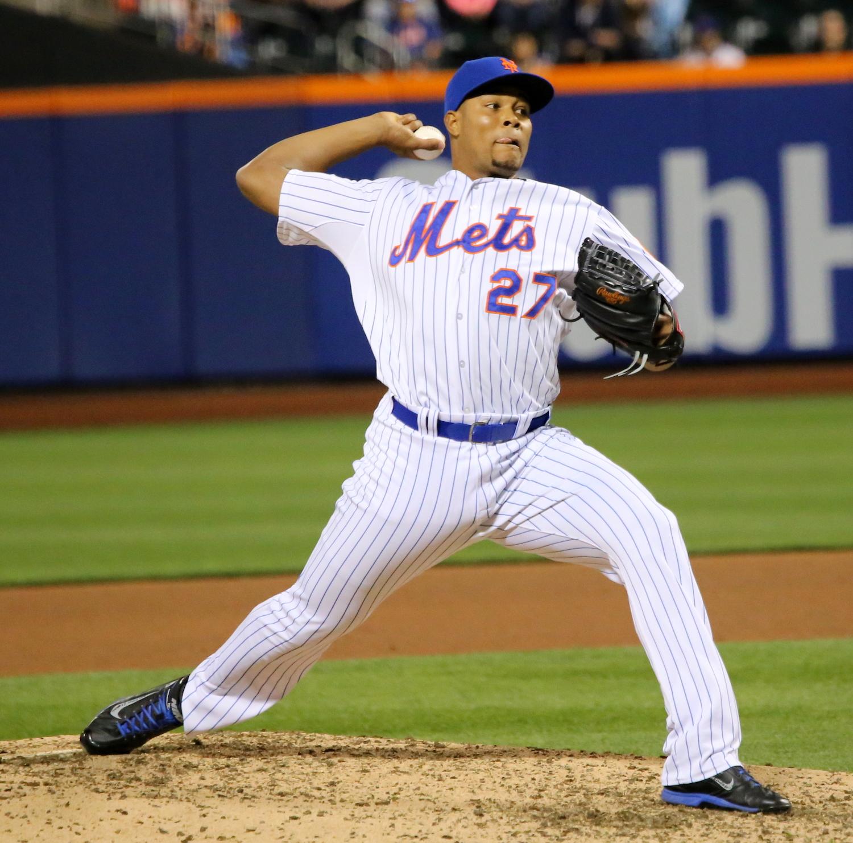 """Jeurys Famila """"Orioles vs. Mets: 5/6/2015"""" ©2015  Arturo Pardavila III"""
