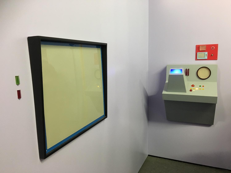 Viewscreen and Equipment Inside Transporter Room ©2017 David R. George III