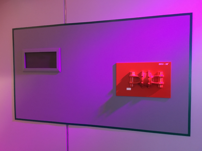Red Alert Light and Equipment in Corridor ©2017 David R. George III