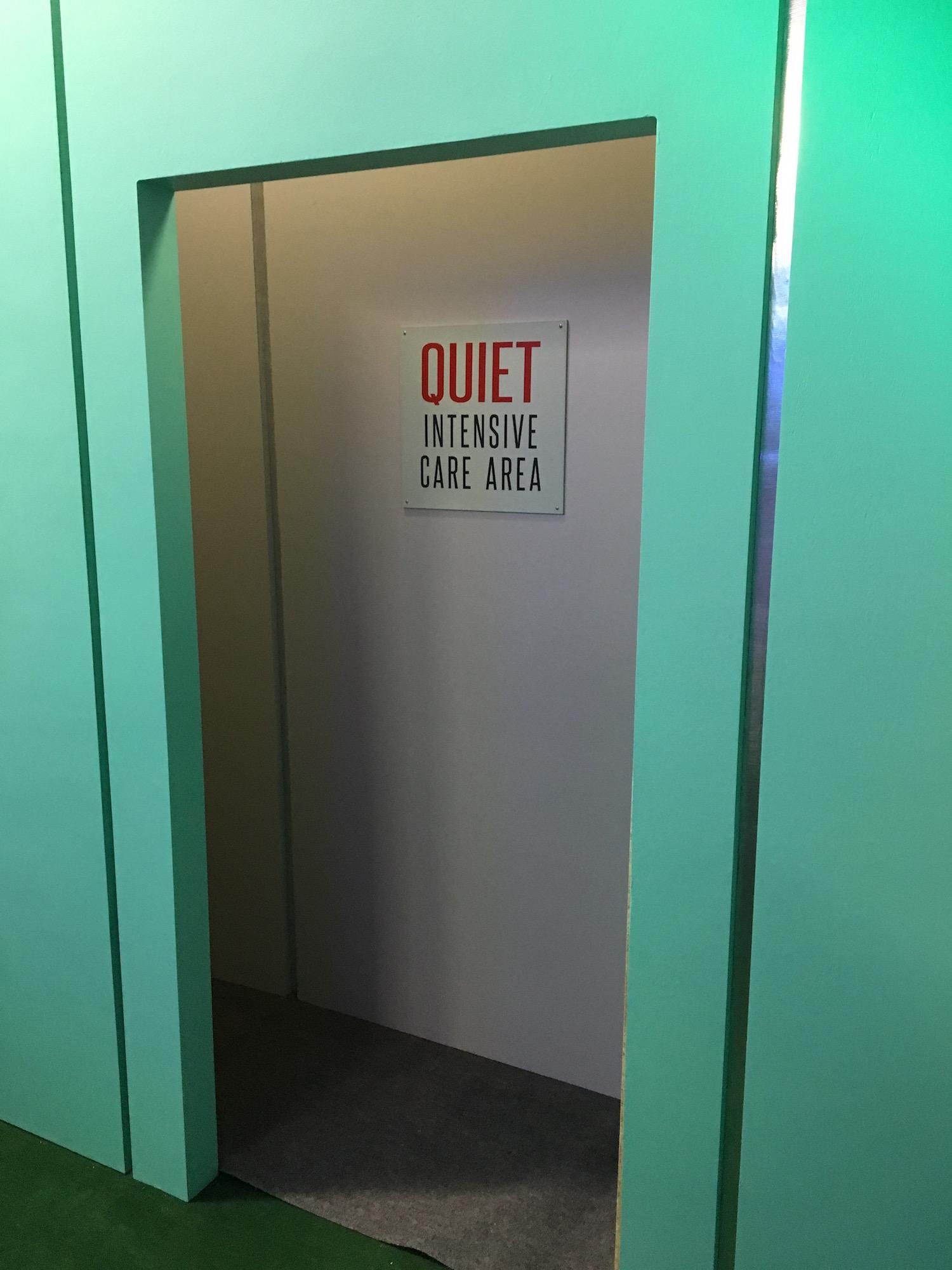 Outside Intensive Care Area ©2017 David R. George III