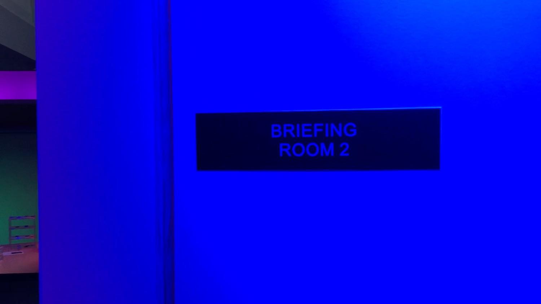 Outside Briefing Room ©2017 David R. George III
