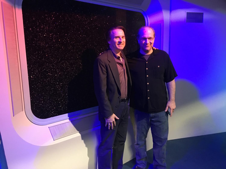 DRG III and Scott Pearson Inside Briefing Room ©2017 Karen Ragan-George