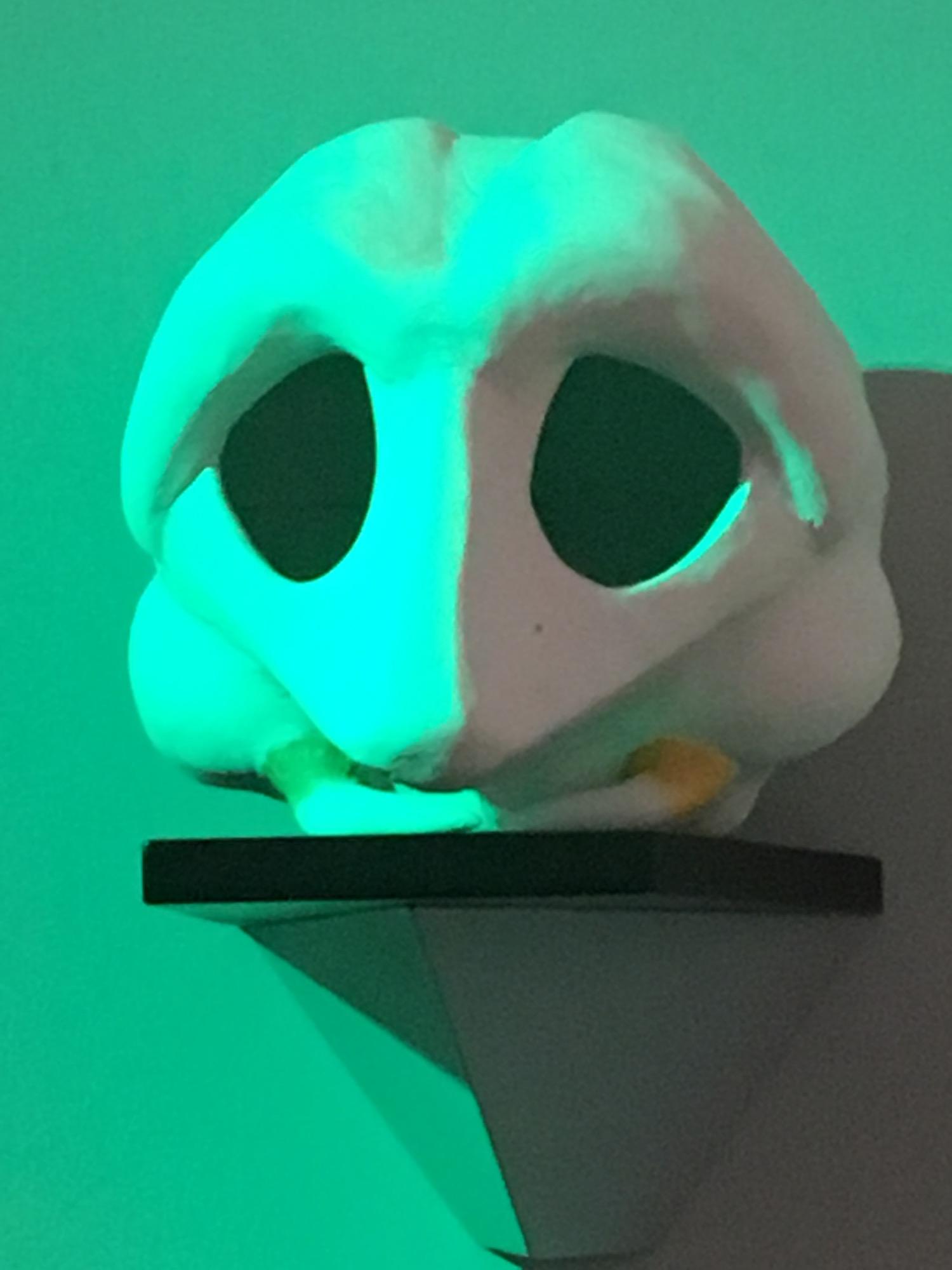 Alien Skull Inside Doctor McCoy's Office ©2017 David R. George III