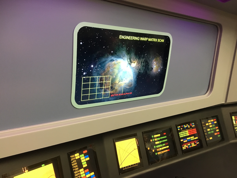 Main Engineering Display ©2017 David R. George III