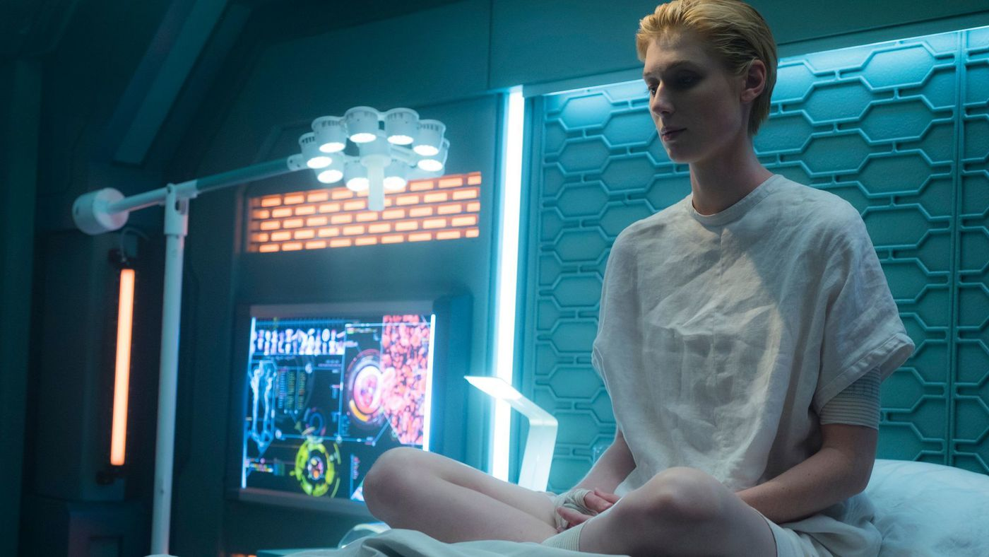 Elizabeth Debicki in  The Cloverfield Paradox