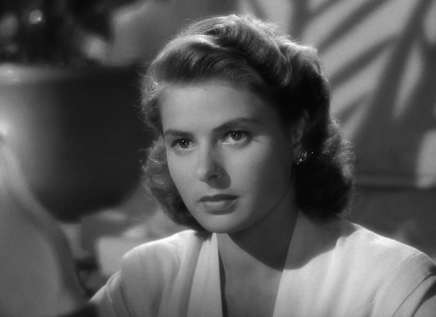Ingrid Bergman in  Casablanca