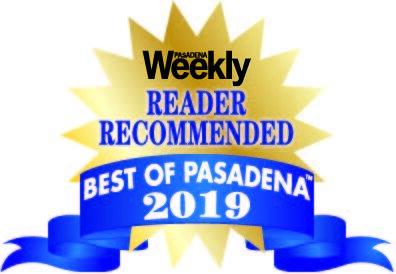Winner - Best of Pasadena 2019 - Reader Recommended Best Dance Studio