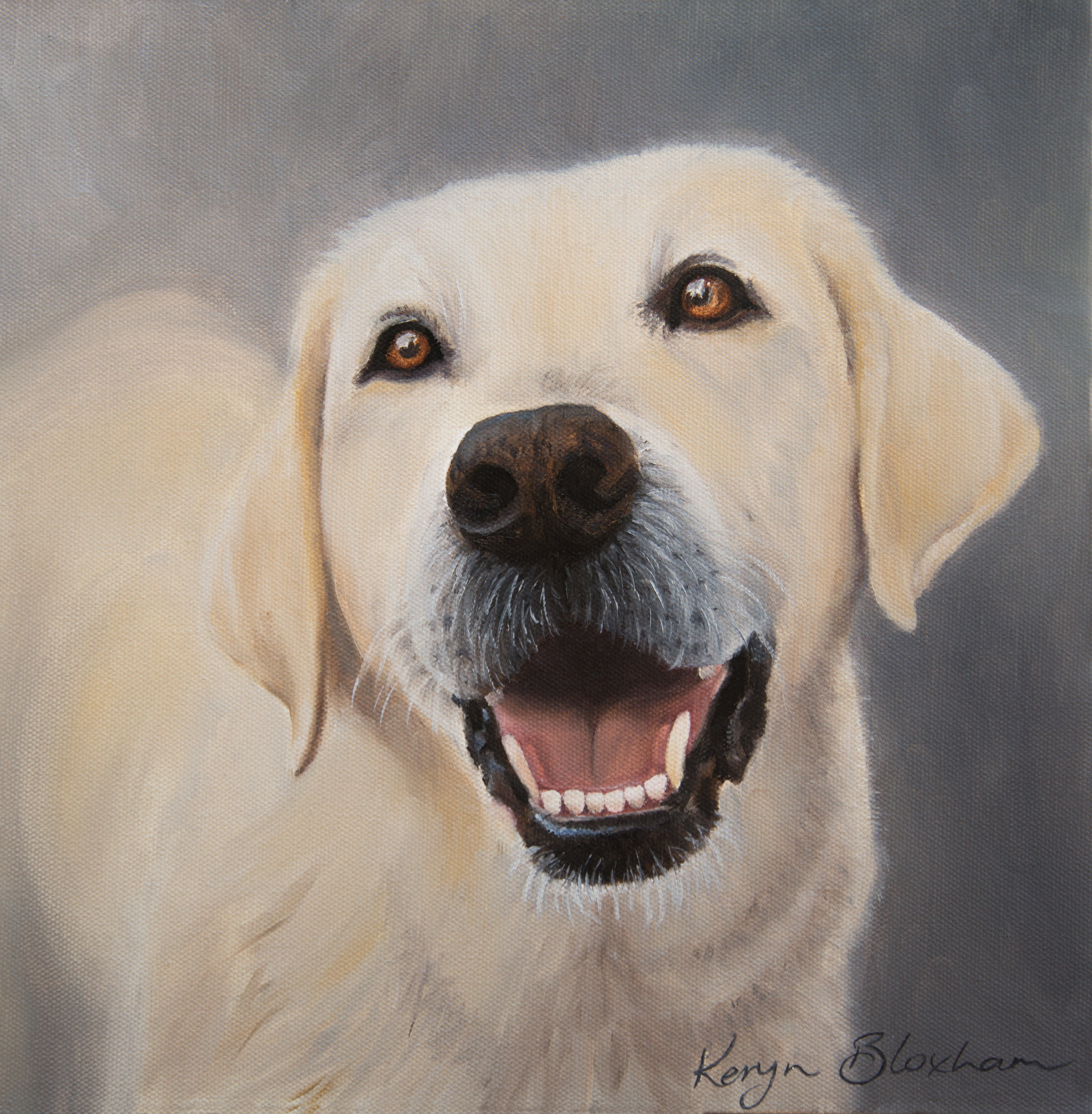 One of the pet portraits I have done lately