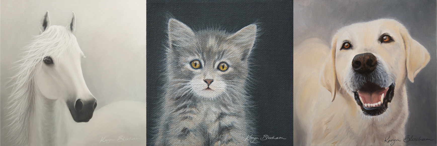 New! Pet Portraits - Click here to find out more about commissioning an original artwork today!