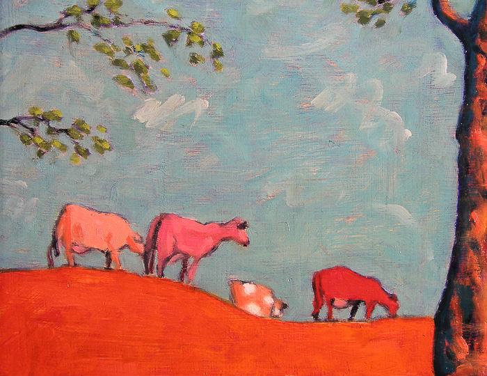 Pink Cows