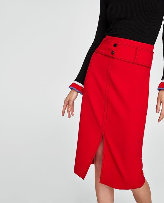 Topstitch Skirt