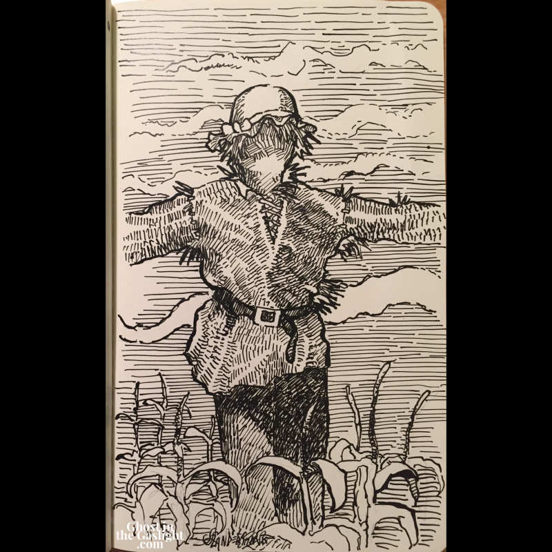 inktober13-scarecrow