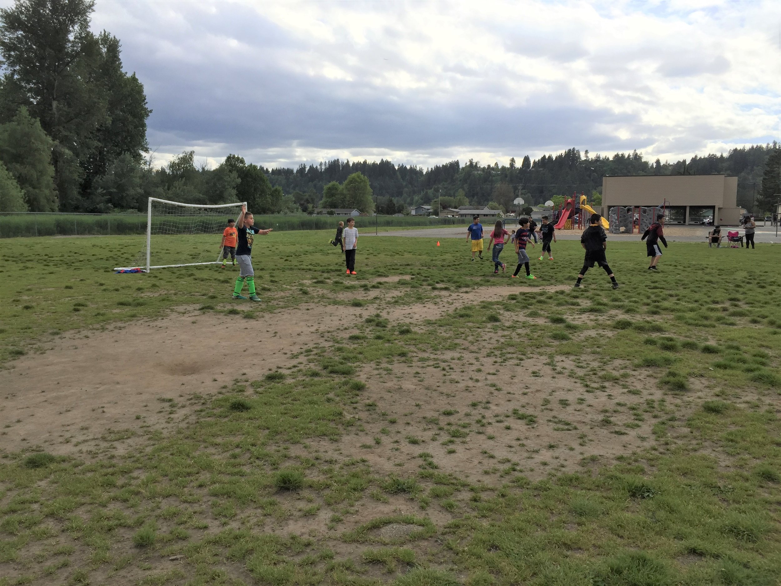 Alpac Elementary School  Soccer for Success   Pacific, WA