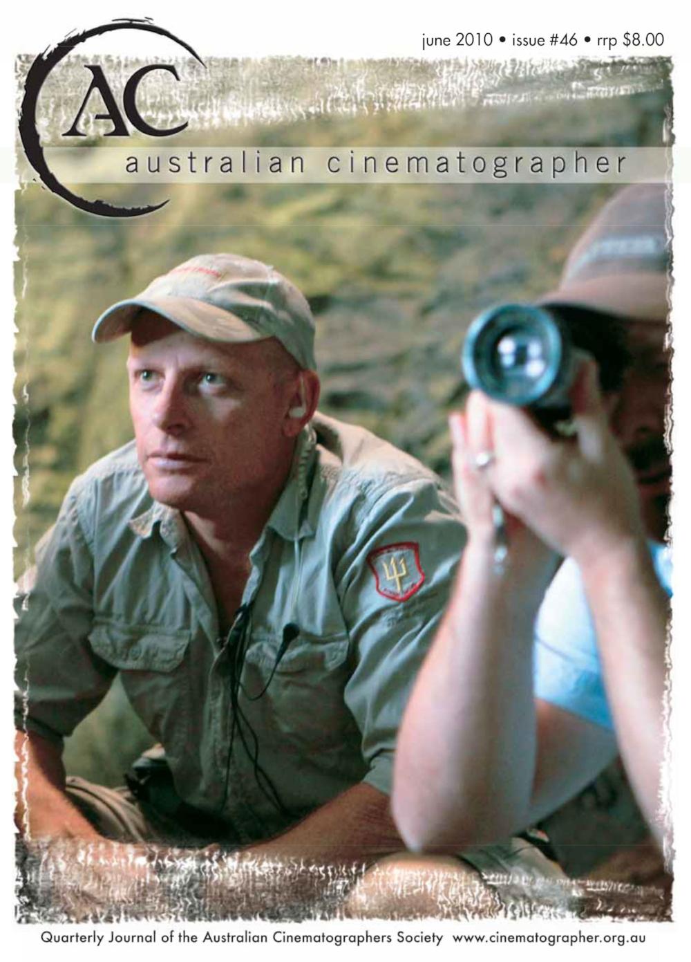 Sanctum – Australian Cinematographer