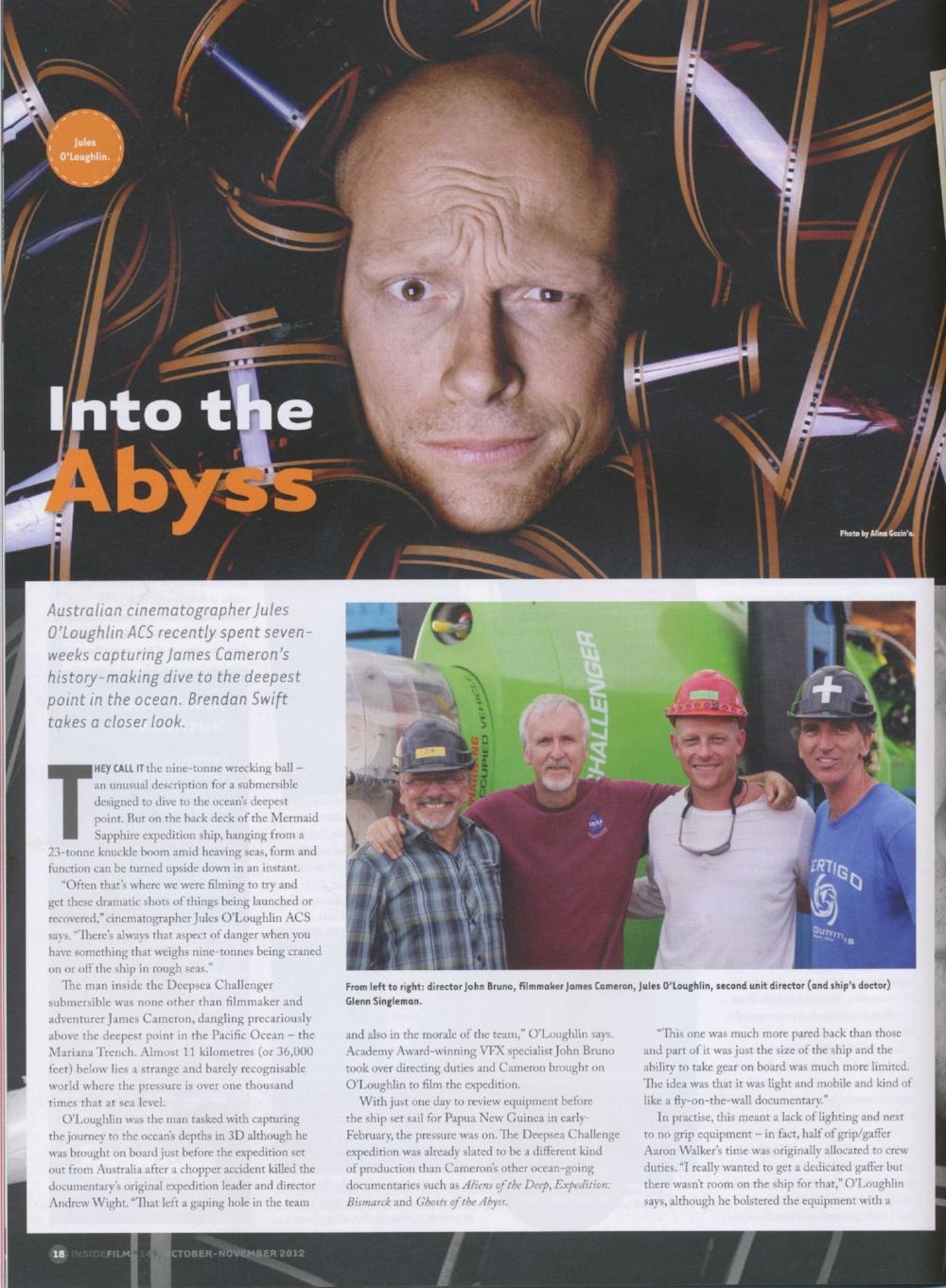 Deepsea Challenger – IF Magazine