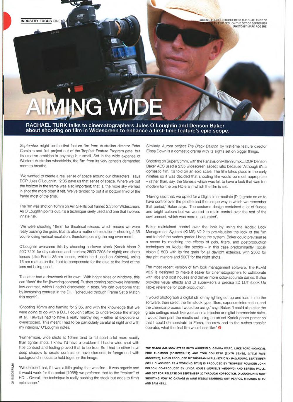 September – IF Magazine