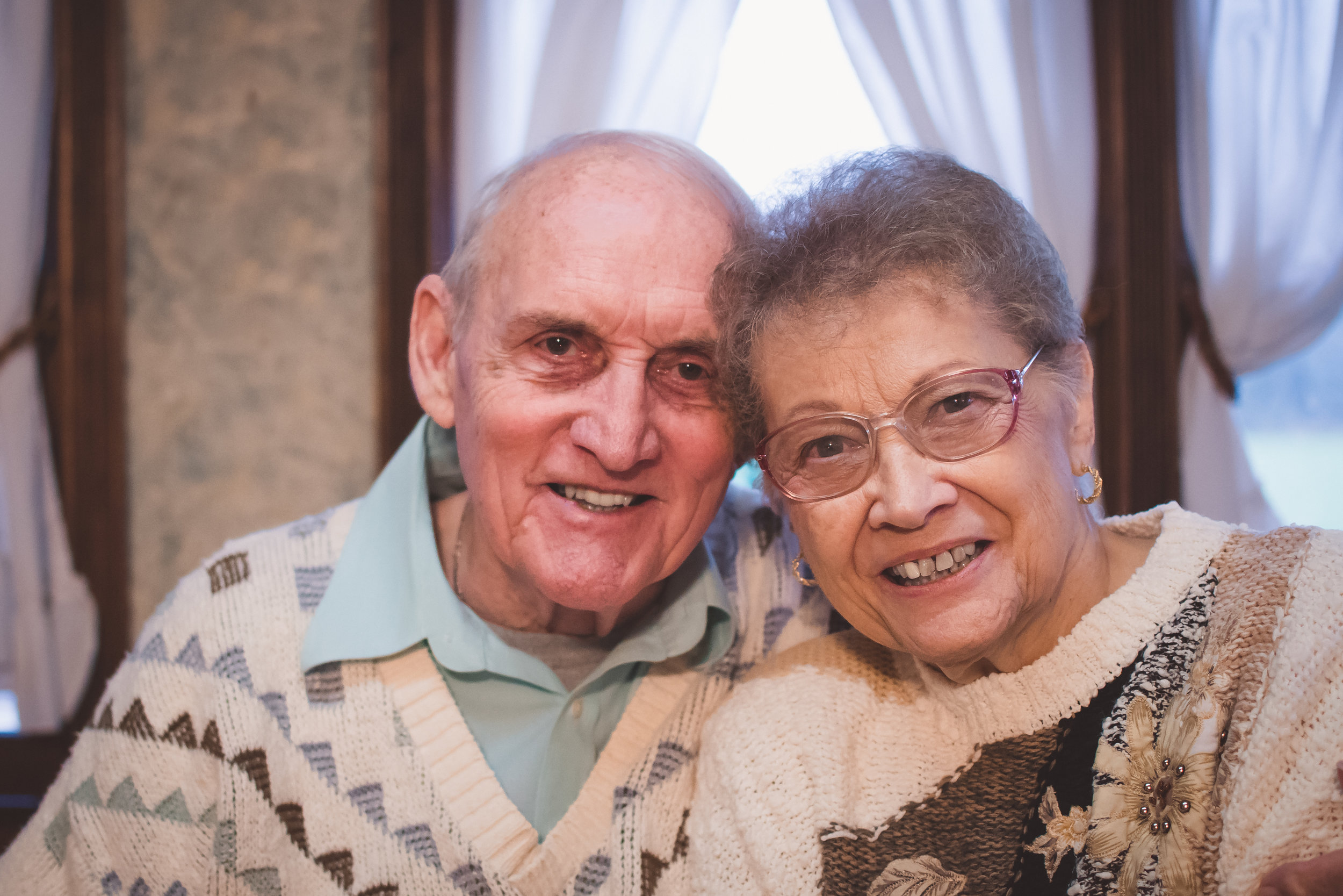 My Grandma and Grandpa....the lady who keeps all the memories, and the man who loves her!