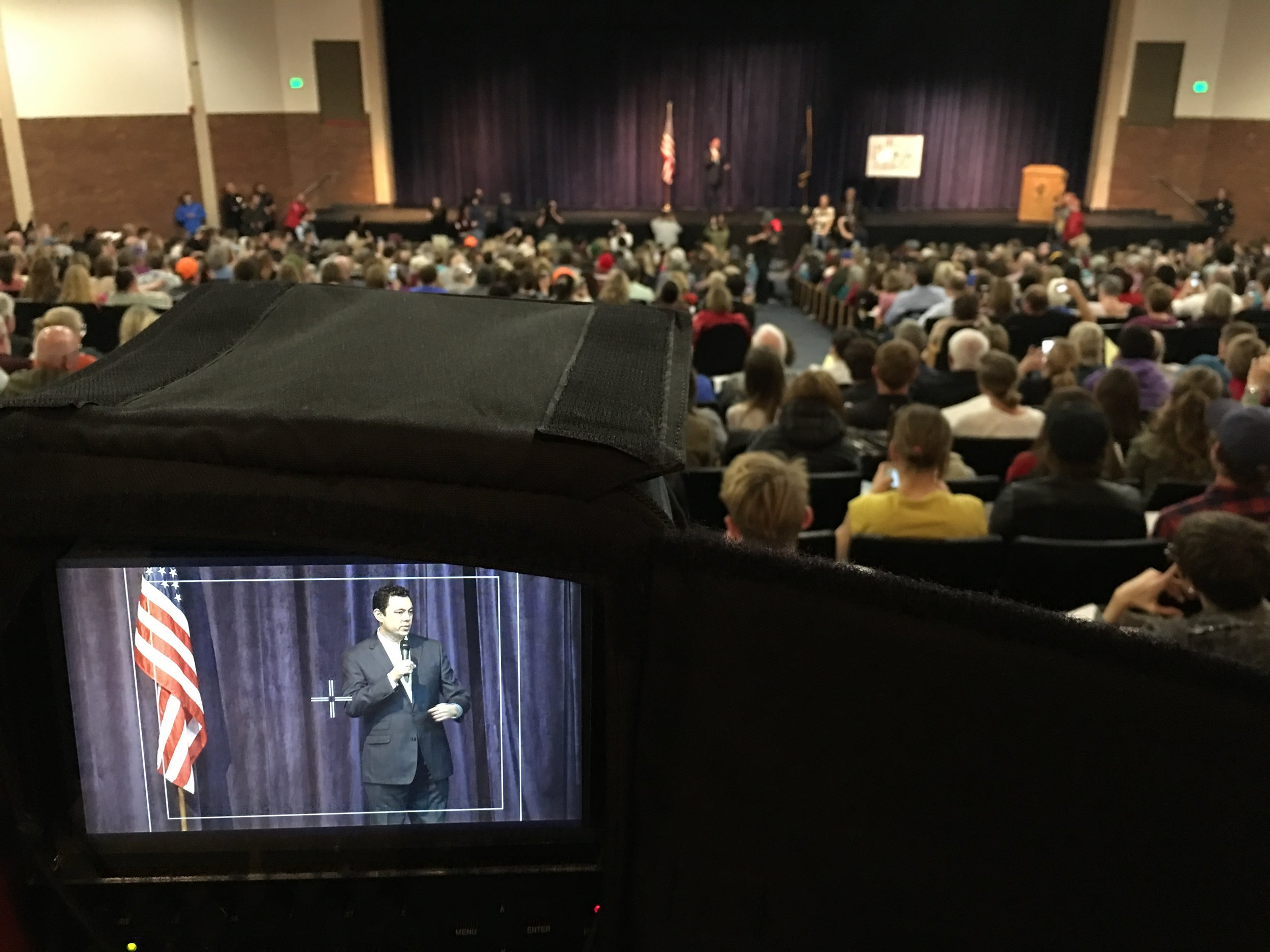 Jason Chaffetz Town Hall Meeting Salt Lake City, Utah