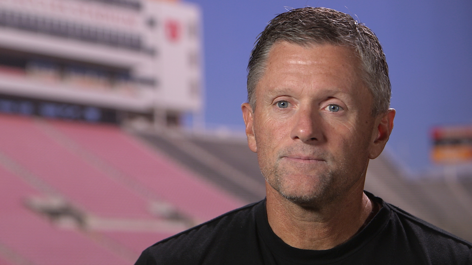 ESPN Game Day - University of Utah Coach Kyle Whittingham