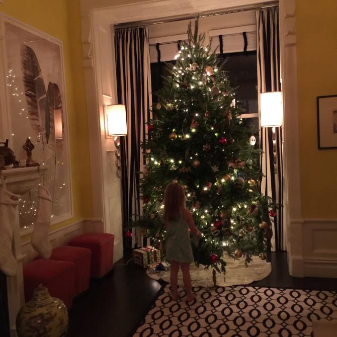 little by tree